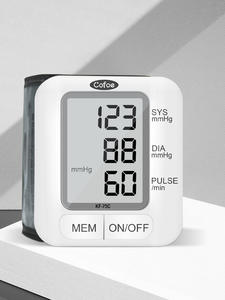 Cofoe Sphygmomanometer Pressure-Monitor Tonometer-Heart-Rate Wrist-Blood Health-Care