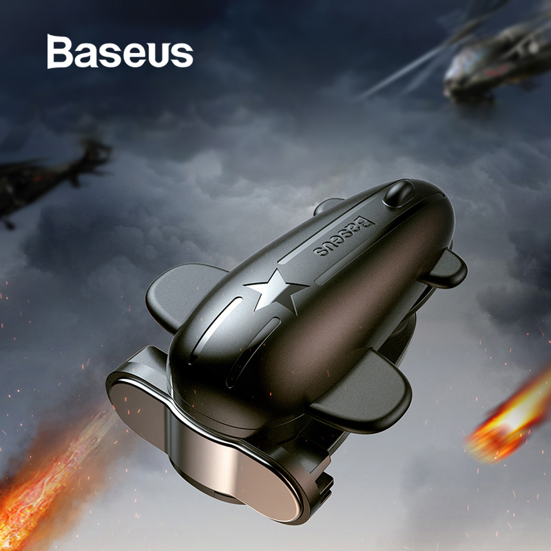 Baseus Mobile Game Controller Gamepad Trigger for iPad Xiaomi Samsung Huawei Tablet Shooter Fire Button Joystick Accessories