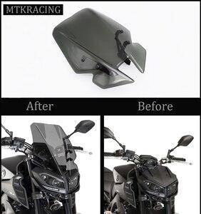 MTKRACING FOR YAMAHA MT-09 MT09 Motorcycle Front Screen windshield Fairing windshield 2017-2020