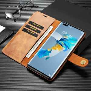 Image 4 - 2 in 1 Case For Huawei Mate 40 Pro Plus  Case Cover High End Leather Removable Coque For Huawei Mate 40Pro Cases Wallet Fundas