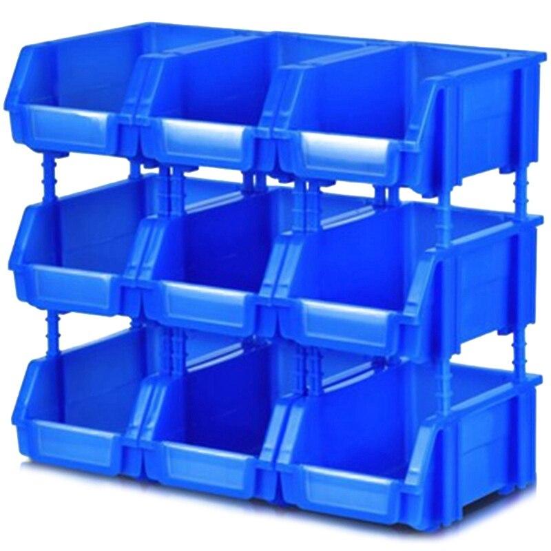 Tool Storage Box Storage Shelf Shelf Garage Storage Rack Workshop Thickening Combination Parts Box