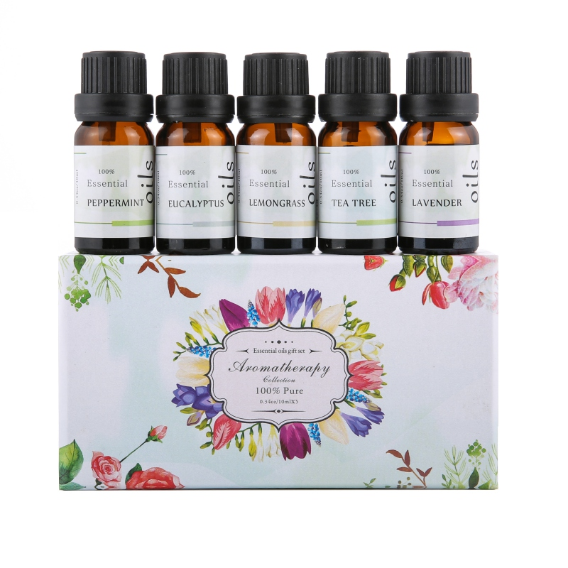 100% Pure Plant Essential Oil High Quality Set Fragrance Oil  Aromatherapy Essential Oil Long Lasting Aromatic