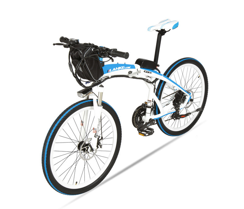 Lankeleisi 189.47 electric bicycle, folding bicycle, 26 inches, 36/48 V, 240 W, disk brake, fast folding, mountain 29