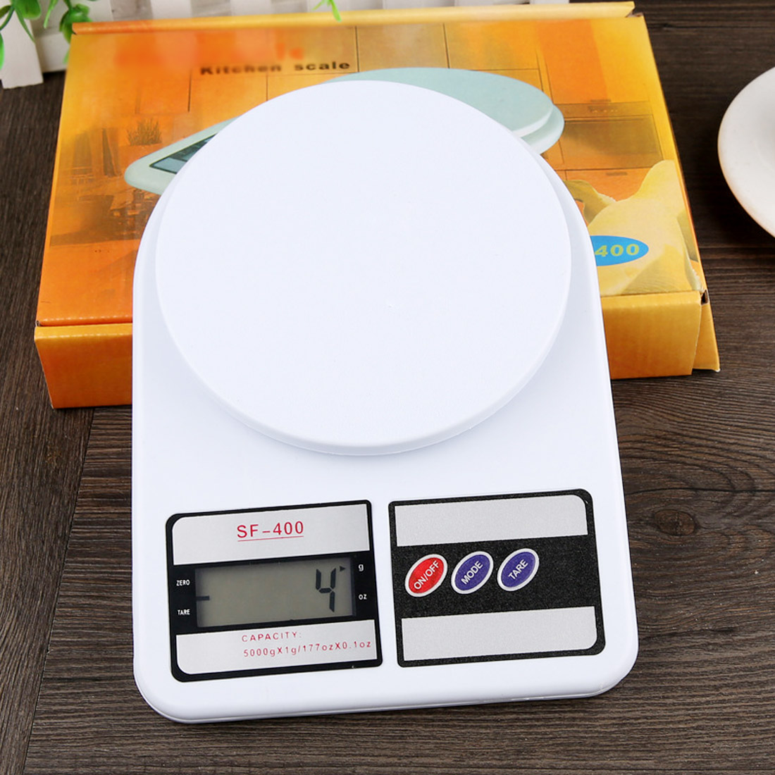 5/10kg 1g Precise Kichen Electronic Scale LCD Display Electronic Bench Weight Scale Kitchen Cooking Measure Tools Food Balance