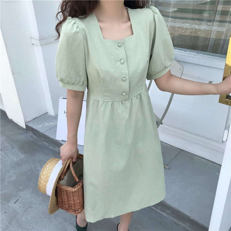 Japanese academy summer sweet lovely dress suitable for outdoor outing dress girlfriend Harajuku retro Princess Dress 6