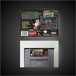 "Image 2 - חמור המדינה קונג 2 דידי של קונג Quest   RPG משחק כרטיס סוללה לחסוך בארה""ב גרסה תיבה הקמעונאי"