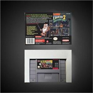 Image 2 - Pays de lâne Kong 2 quête de Diddy Kong jeu RPG batterie de carte sauvez nous Version boîte de détail