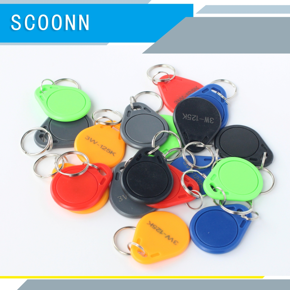 IC-UID 13.56mhz Repeated Erase Keychain Elevator Induction Smart Buckle Community Gate Security Access Card Smart Nfc Tags