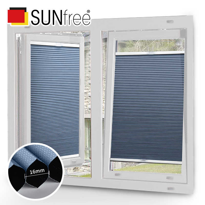 Hot Sell Top down bottom up Easy Fix Cordless Blind Side lock Honeycomb Curtain Cellular Blinds Customize size