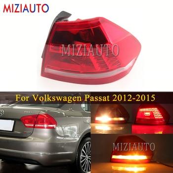 Outer/Inner Tail Light for Volkswagen Passat B7 2012-2015 Rear Tail Stop Brake light Rear bumper Turn Signal fog lamp Car parts