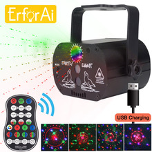 Disco Light Party-Lamp-Lights Laser-Stage-Projector Green-Lamp Dj Led Wedding Birthday