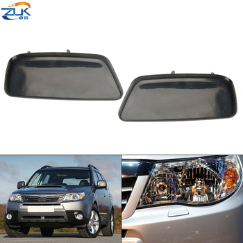 ZUK Front Bumper Headlight Headlamp Washer Nozzle Cover For Subaru Forester 2009-2012 None Painted OEM:86636-SC030 86636-SC020 image