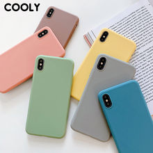 COOLY Candy Color Case For Huawei Honor 8X 8A 8C 7X 9 i 10i V20 Back Cover on Honor 10 Lite 20 Pro Soft TPU Silicone Phone Coque
