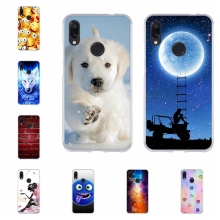For Xiaomi Redmi Note 7 Pro Case Soft Silicone Cover Cute Patterned Shell