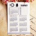 Горячая Распродажа, календарь, прозрачный штамп/силиконовая фотобумага, сделай сам, альбом для скрапбукинга/производство карт