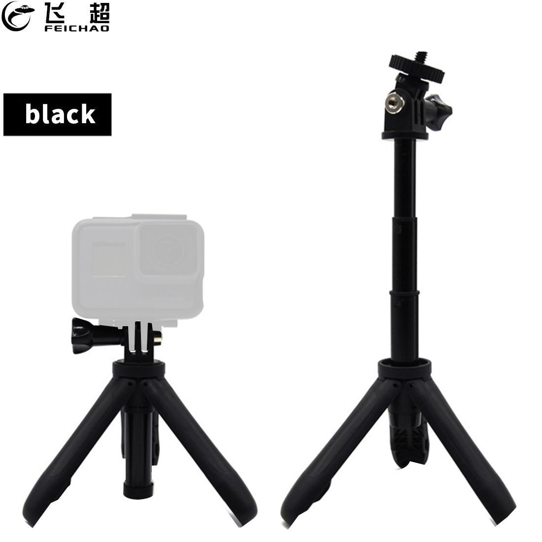 Mini Protable Tripod Extension Pole Handheld Monopod Pole Hand Grip Selfie Stick Mount for Gopro Hero 8 7 YI Osmo Action Camera-0