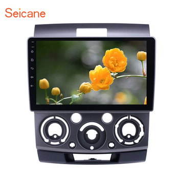 Seicane 9 inch HD Touchscreen Android 9.1 car GPS Radio for Ford Everest/Ranger Mazda BT-50 2006-2010 With support Carplay TPMS image