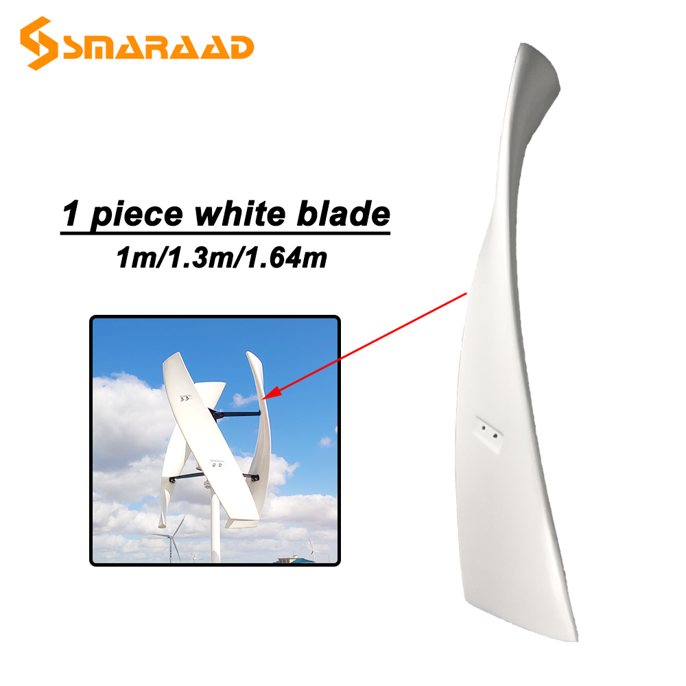 lamina de vidro para gerador de turbina 300w 600w diy lamina do moinho de vento de