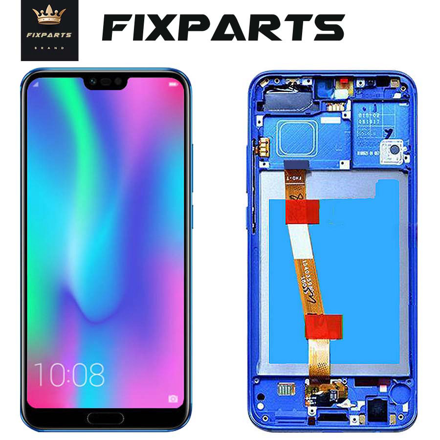 "Black 5.84""Display Huawei Honor 10 LCD Display+Touch Screen Digitizer Assembly Replacement Parts 2280*1080 Huawei Honor 10 LCD"