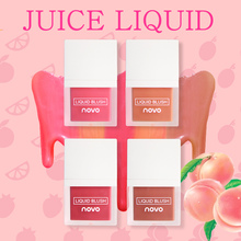 NOVO Liquid Face Blusher Tint Sleek Weightless Juice Blush Makeup Lasting Natura