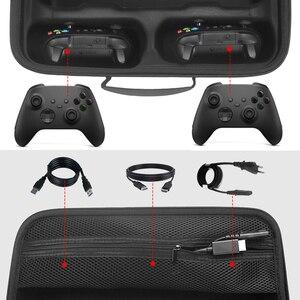 Image 5 - נסיעות משחק קונסולת אחסון תיק מקרה נרתיק עמיד הלם תיבת נסיעות נשיאה אלחוטי בקר מקרה עבור Xbox סדרת X Controll