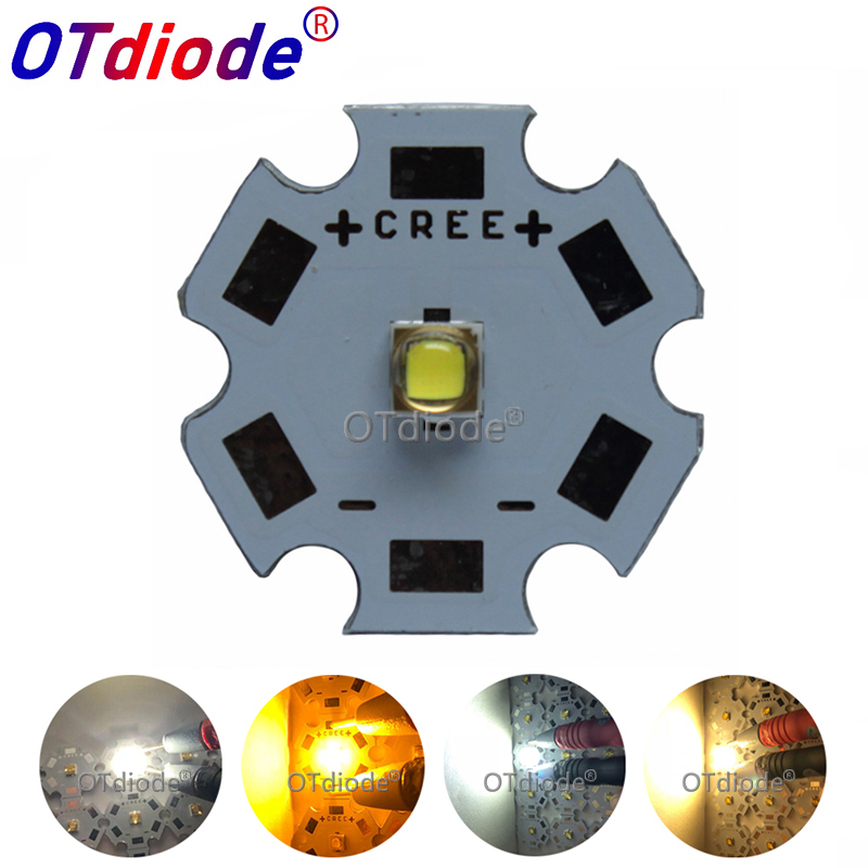 1PCS Korea LG3535 Led Emitter Cold Warm Neitral White Golden Yellow 1W-3W-5W LED Diode Can ReplaceXPG XTE XPG2 LED With Radiator