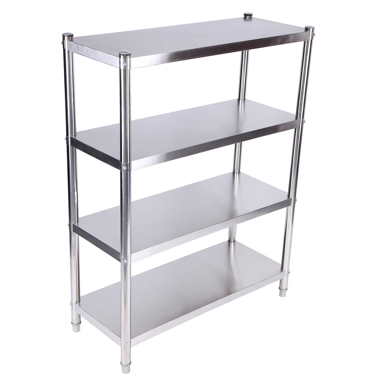 Picture of: Yonntech 4 Tier Storage Rack Shelf Stainless Steel Commercial Kitchen Kitchen Islands Trolleys Aliexpress