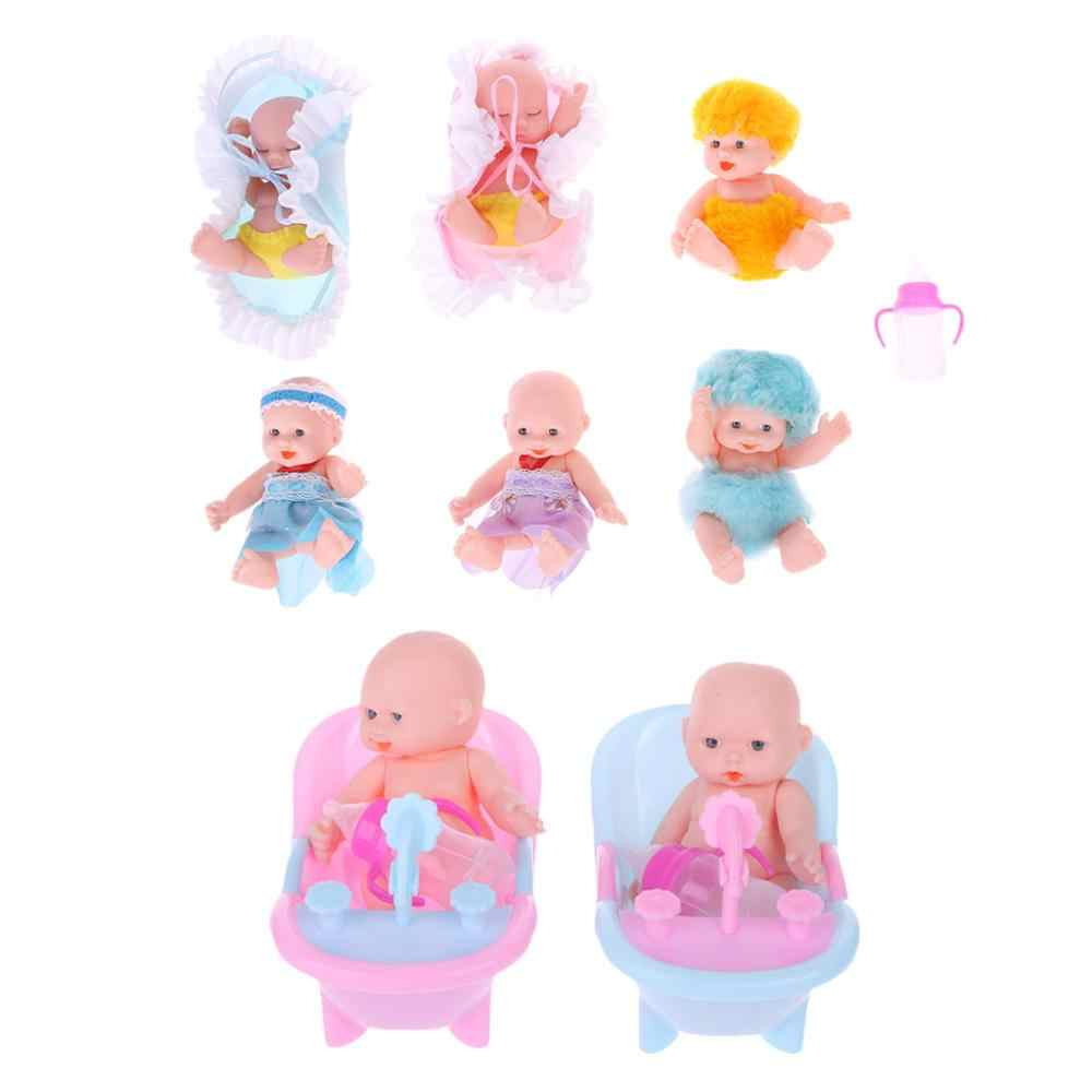 New Baby Doll Surprise Doll Reborn Doll Baby Real Mini Bebe Reborn Girl Baby Toy