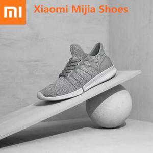 Image 1 - Nieuwe Originele Xiaomi Mijia Smart Loopschoenen Mannen Professionele Sport Sneaker Ondersteuning Xiaomi Smart Chip (Niet Inclusief)