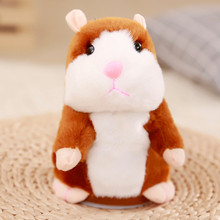 Toddler Toys Talking Hamster Repeats What You Say Educational Talking Toy Repeating Hamster Toy Gift for Boys and Girls