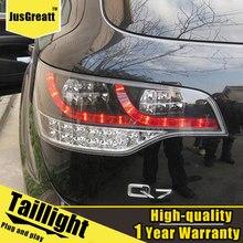 Led luz da cauda estilo do carro para audi q7 2006-2009 luzes traseiras led lâmpada traseira + freio tronco luz dinâmica sinal de volta um conjunto