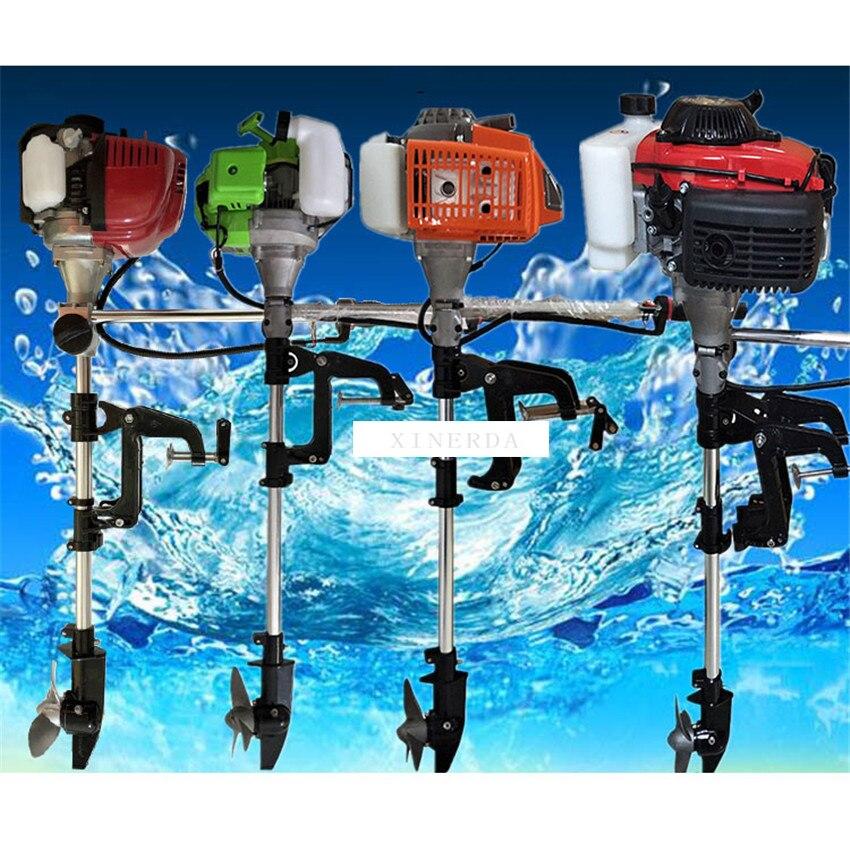 Рыбацкая лодка моторная надувная лодка подвесной мотор Gasonline морской мотор 2,0/2,2/3,5/4,0 лошадиная сила