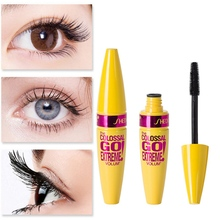 Natural Mascara Waterproof Thick Durable No Fading Dizzy Eyelash Lengthening Makeup Extension Volume