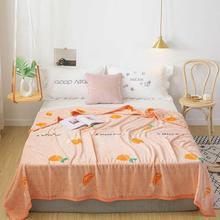 Скандинавские оранжевые фруктовые лимоны, мягкие двухсторонние одеяла с принтом, фланелевые флисовые пледы из микрофибры, простыня из полиэстера