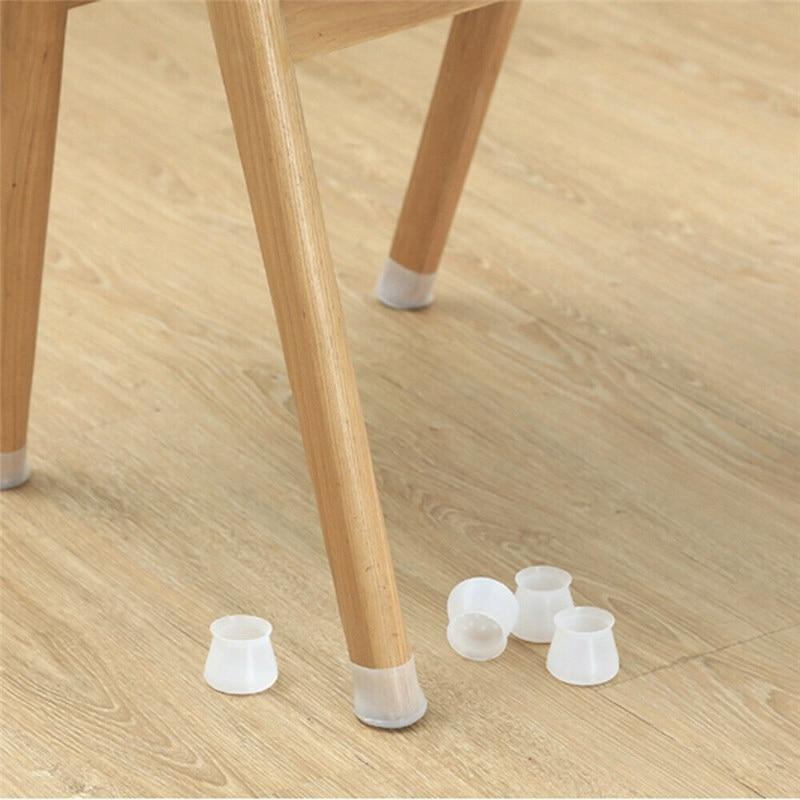 4/8/16pcs Chair Leg Caps Furniture Table Floor Feet Cap Cover Protector Rubber Anti Scratch Protectors Furniture Parts