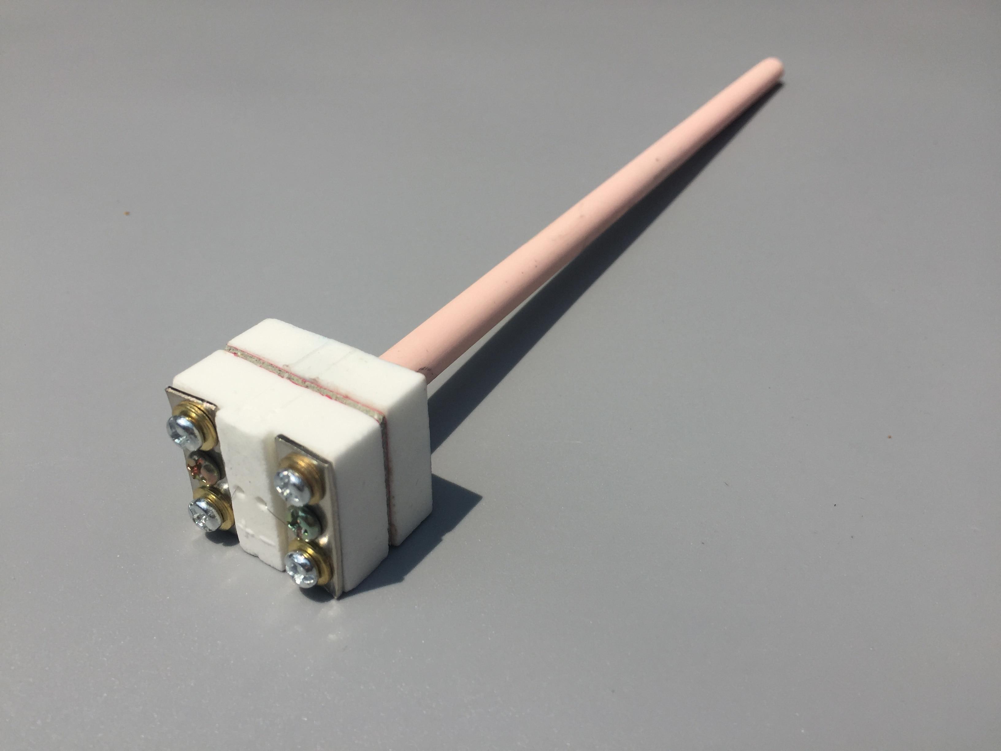 S Type B Type WRP-100 Platinum Rhodium Thermocouple Probe Temperature Sensor 1350 1800 Degree Celsius High Precision