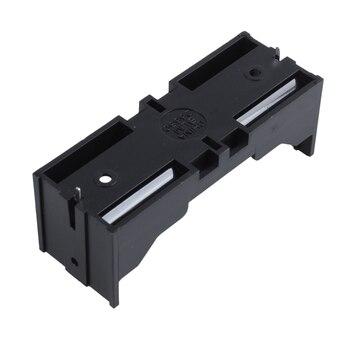 Новый пластиковый одиночный 26650 держатель батареи ящик для хранения 10 шт черный