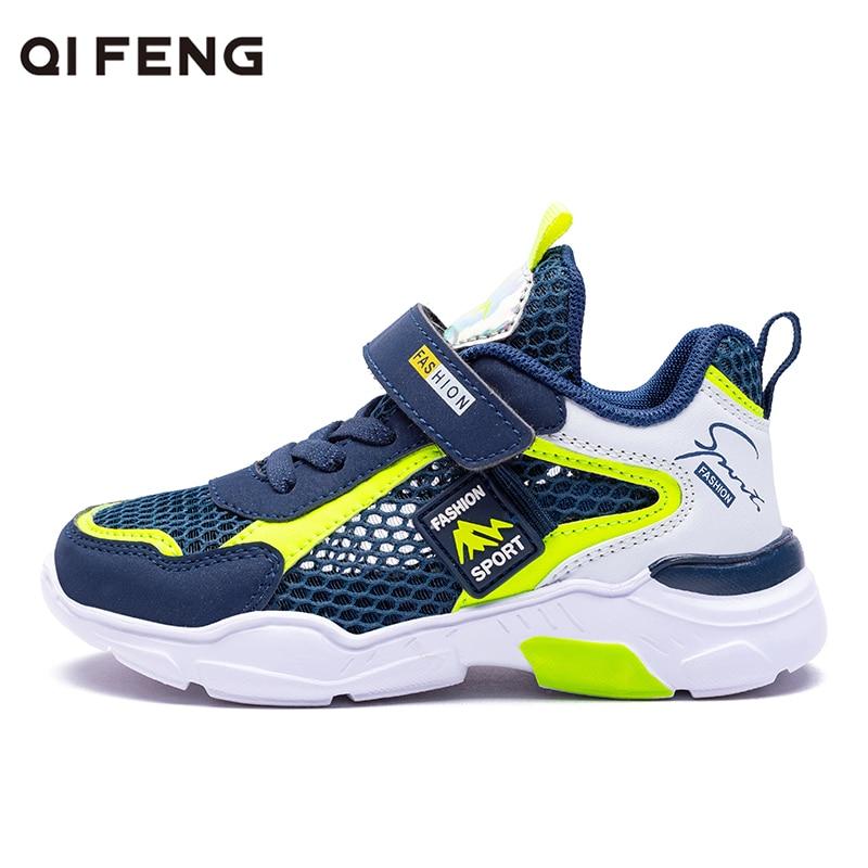 Summer Kids Casual Running Shoes Light Breathable Sneakers Boys Non-slip Teenager Tennis Shoes Kids Runner Girl Walk Sandals Boy