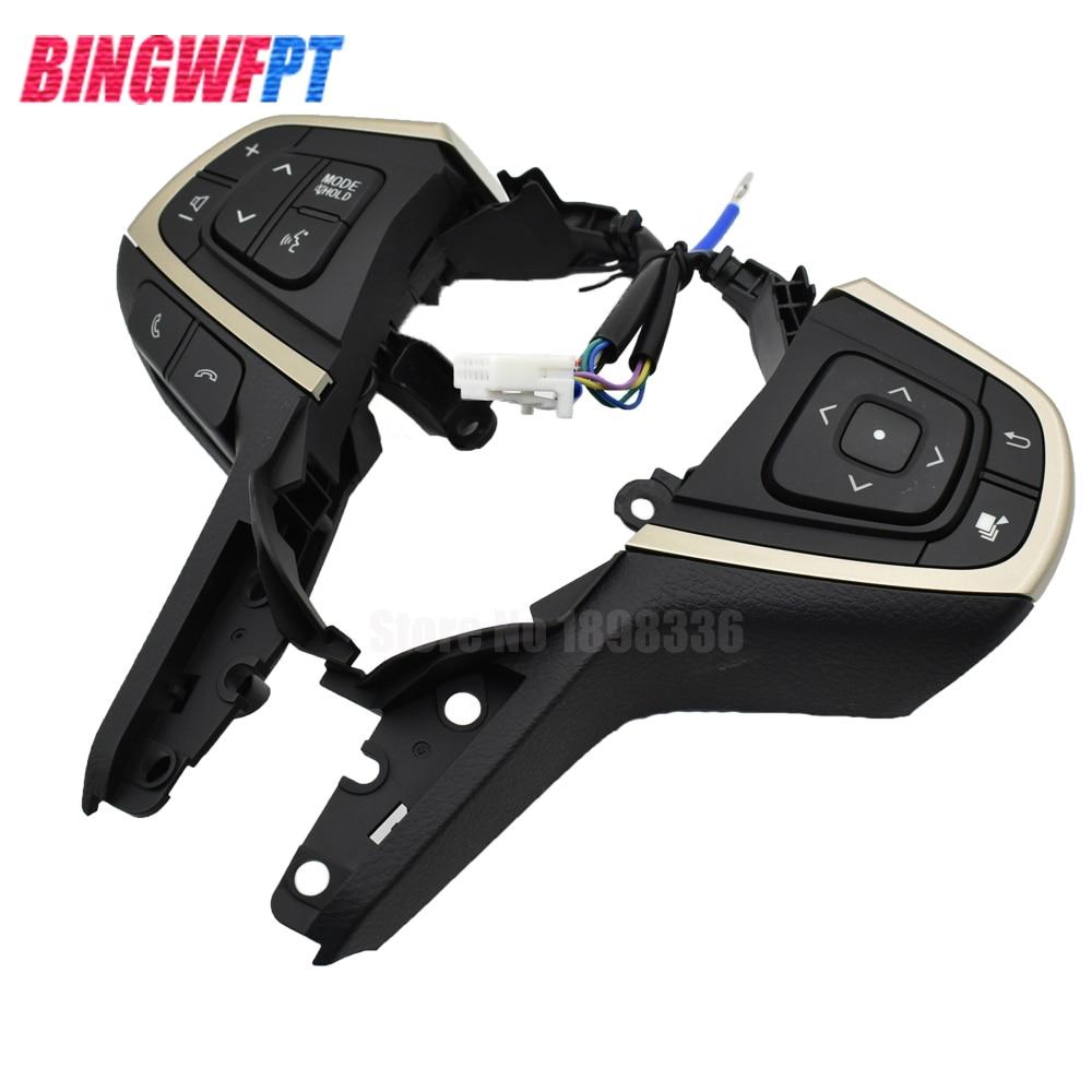 Pièces d'auto pour Toyota Innova volant régulateur de vitesse boutons commutateurs interrupteur noir multifonction - 3