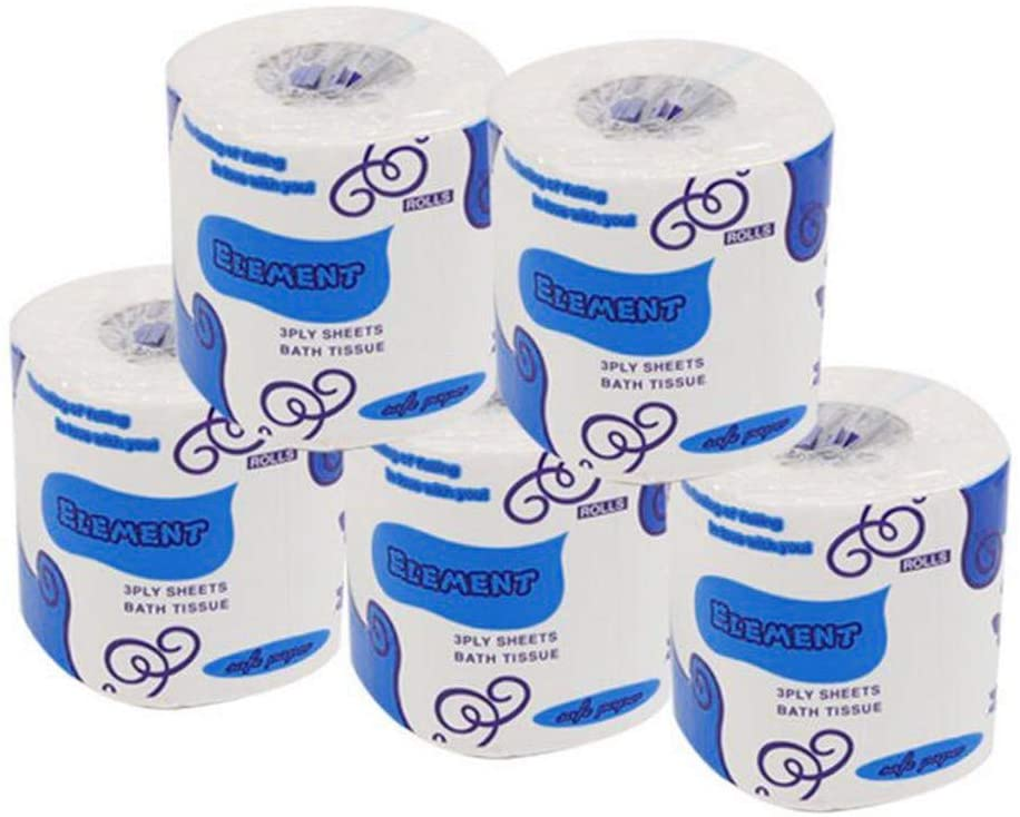10 Pack Toilet Paper Bulk, Silky & Smooth Soft  Premium 3-Ply Toilet Paper, Home Kitchen Toilet Tissue For Daily Use