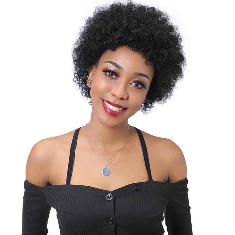 Pixie Cut Lace Wig Jurry Curly Human Hair Wig Invisible Lace Front Part Human Hair Wigs Curly Short Bob Wig Jerry Curly Wig