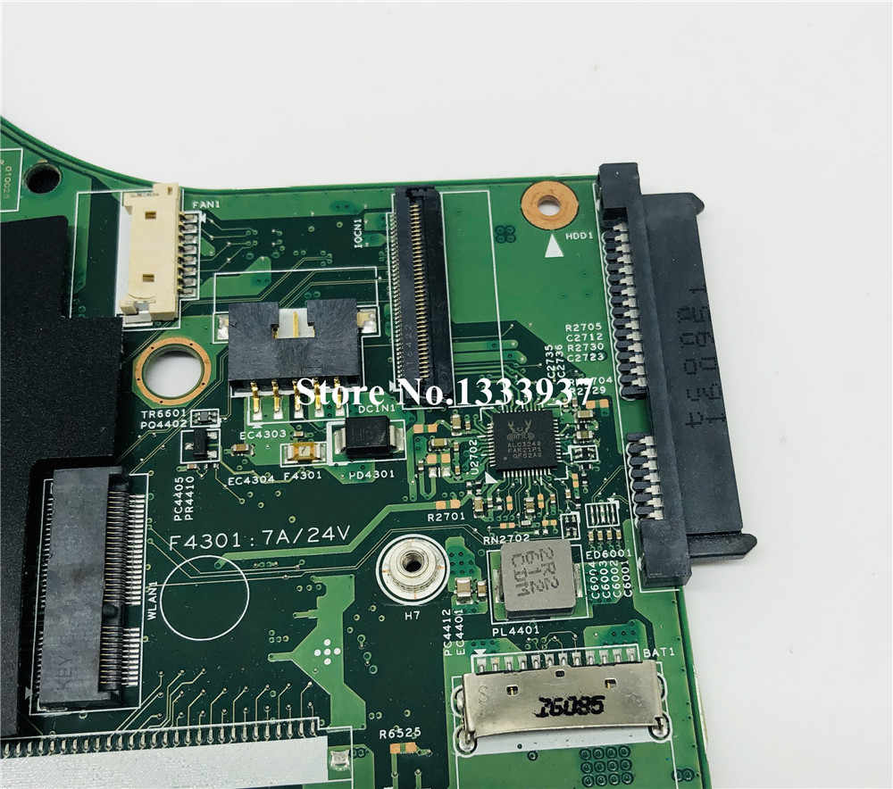 15221-1M เมนบอร์ดแล็ปท็อปสำหรับ Lenovo IdeaPad 700-15ISK Original Mainboard I5-6300HQ