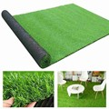 Искусственная трава, ковер, искусственный зеленый синтетический садовый ландшафт, коврик для газона, коврик для газона, искусственный синт...