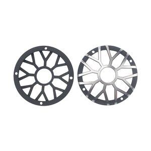 "Image 5 - GHXAMP 3 inch 92MM Car Center Speaker Grill Mesh For 3"" 3.5"" inch Car Midrange Speaker Cover Aluminum Decorative net 1Pairs"