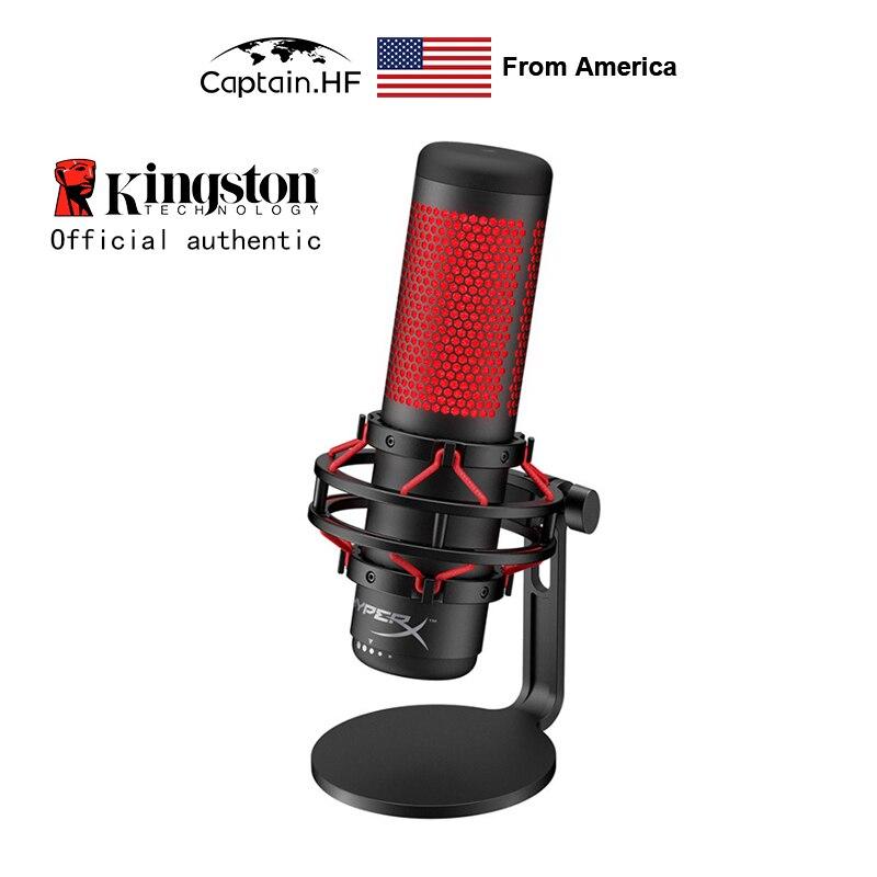 US Captain Автономный Микрофон со Встроенным Ударным Креплением Hyper X QuadCast, Микрофон для Стримеров, Создателей Контента и Геймеров|Профессиональная звукзапись|   | АлиЭкспресс