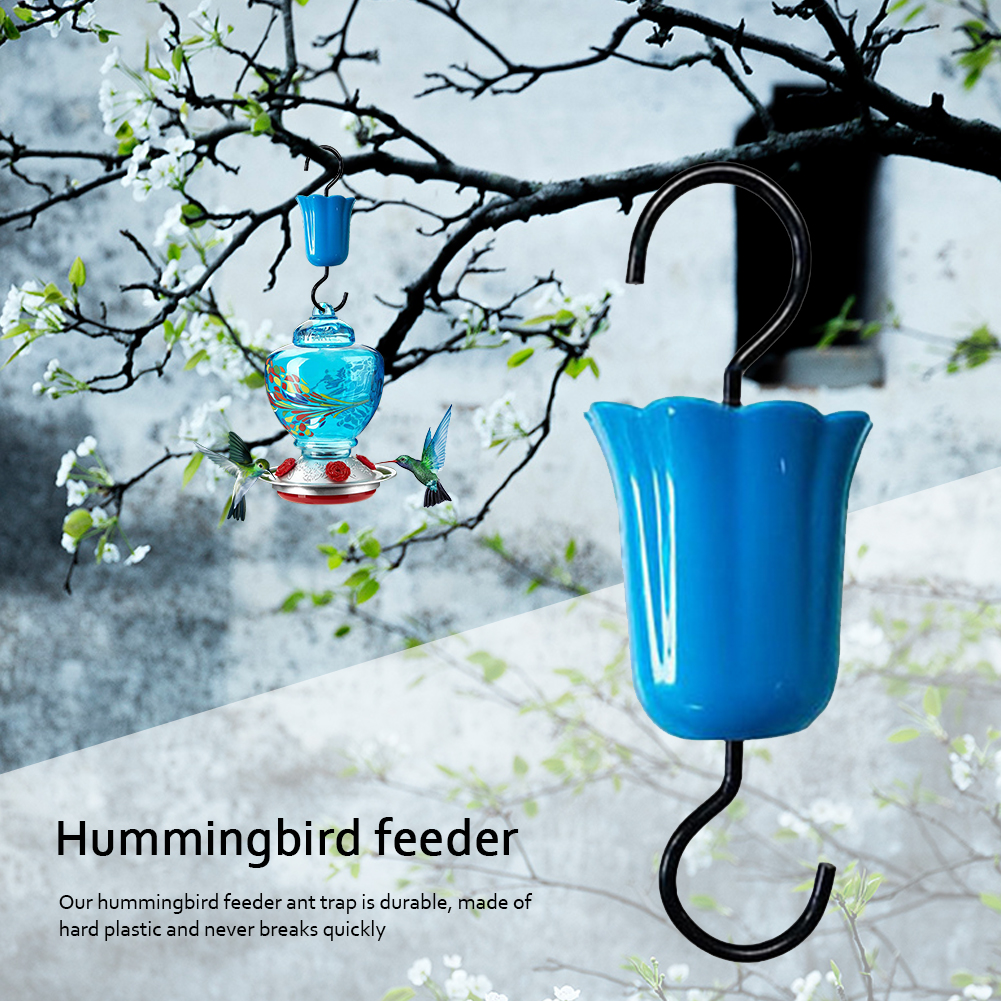 Hooks Ants Trap Hummingbird Feeder Flower Ant Moat Insect Guards Nectar Feeders