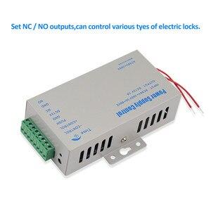 Image 3 - DC12V 5A التحكم في الوصول امدادات الطاقة تحكم التبديل AC90V 260V المدخلات مع تأخير الوقت لمدة 2 أقفال إلكترونية نظام اتصال داخلي