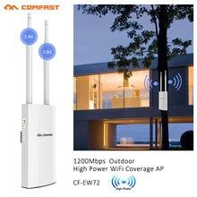 Двусторонняя высокомощная внешняя точка доступа comfast 5 ГГц