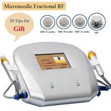 Новая микронеедельная машина для обработки кожи лица фракционная радиочастотная микроигольчатая 2 ручки многофункциональное спа-оборудование