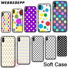 WEBBEDEPP 61N Polka Dots Soft Phone Case for iPhone X XR XS 11Pro Max 7 8 6S Plus 5S SE 8Plus 7Plus 11 Pro Max Cases 61n 85540 10 0 or 61n 85540 13 0 cdi for 30hp 2stroke yamaha outboard engine